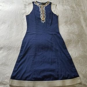 Embroidered dress from India